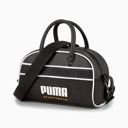 Mini bolso de mano Campus, Puma Black, pequeño