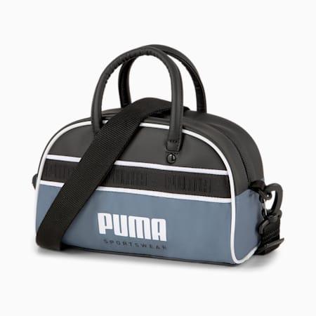 Mini bolso de mano Campus, China Blue-Puma Black, pequeño