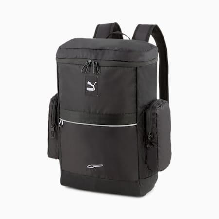 EvoPLUS Box Unisex Backpack, Puma Black, small-IND