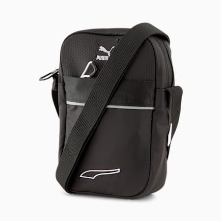 EvoPLUS Compact Portable Unisex Shoulder Bag, Puma Black, small-IND