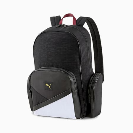 Art of Sport Unisex Backpack, Puma Black, small-IND