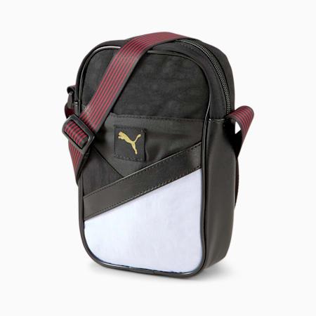 Art of Sport Unisex Compact Portable Shoulder Bag, Puma Black, small-IND