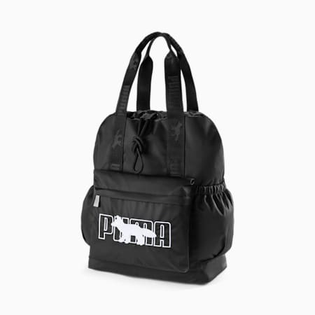 PUMA x MAISON KITSUNE Backpack, Puma Black, small-SEA
