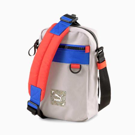 RE.GEN Cross-Body Bag, Peyote-Future Blue-Grenadine, small