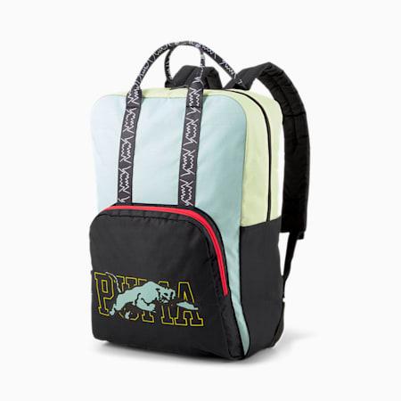 Basketball Unisex Backpack, Puma Black, small-IND