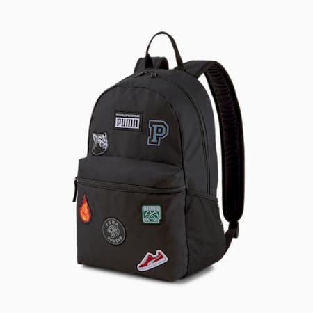 Patch Backpack, Puma Black, small-SEA