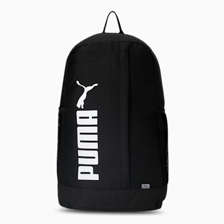 PUMA No.2 Tape Unisex Backpack, Puma Black, small-IND