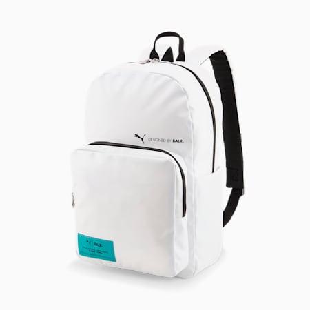 PUMA x BALR. Football Backpack, Puma White, small-GBR
