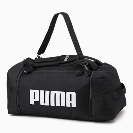 푸마 챌린저 2웨이 더플/PUMA Challenger 3 Way Duffle, Puma Black, small-KOR