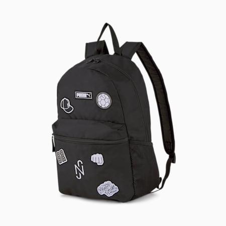 Neymar Jr. PUMA Patch Unisex Backpack, Puma Black, small-IND