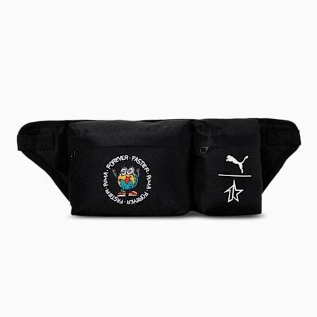 PUMA x 1DER Crossbody Bag, Puma Black, small-IND