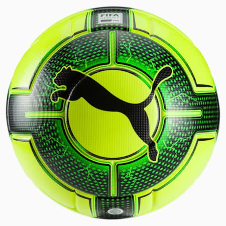 evoPOWER Vigor 1.3 Statement Football, Yellow-Green Gecko-Black, small-IND
