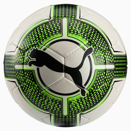 evoPOWER 4.3 Club Football, White-Green Gecko-Black, small-IND