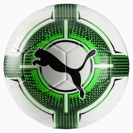 evoPOWER 6.3 Trainer Football, White-Green Gecko-Black, small-IND