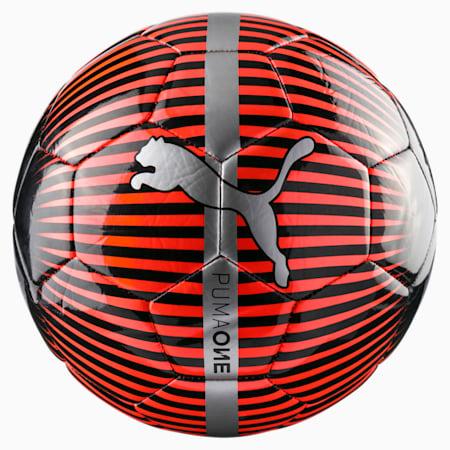 ONE Chrome Soccer, Red Blast-Puma Black-Silver, small