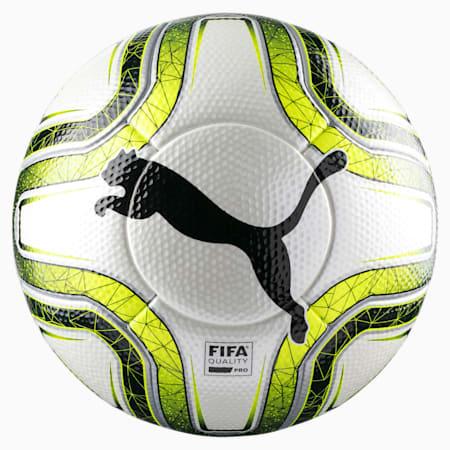 FINAL 1 Statement Q Pro Match Fußball, White-Lemon Tonic-Black, small