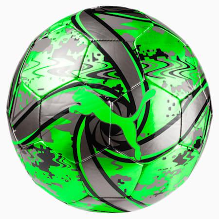 FUTURE Flare Football, Green Gecko-Black-Gray, small-SEA