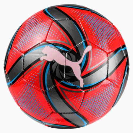 FUTURE Flare Mini Training Ball, Red Blast-Bleu Azur-Black, small