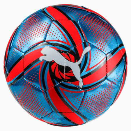 FUTURE Flare Mini Training Ball, Bleu Azur-Red Blast-Black, small