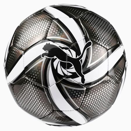 FUTURE Flare mini ball, Puma Black-Puma White-Silver, small