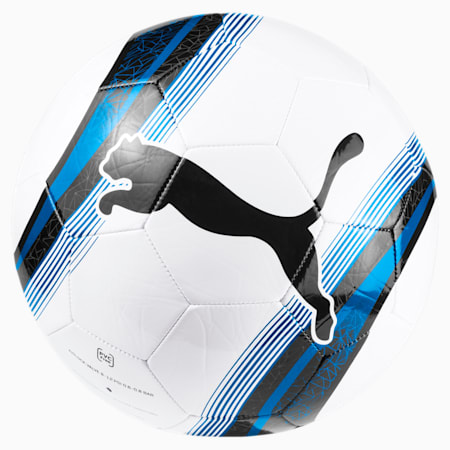 PUMA Big Cat 3 Training Football, White-Blue-Black, small-SEA