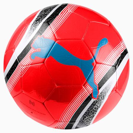 Treningowa piłka nożna PUMA Big Cat 3, Red Blast-Black-White, small