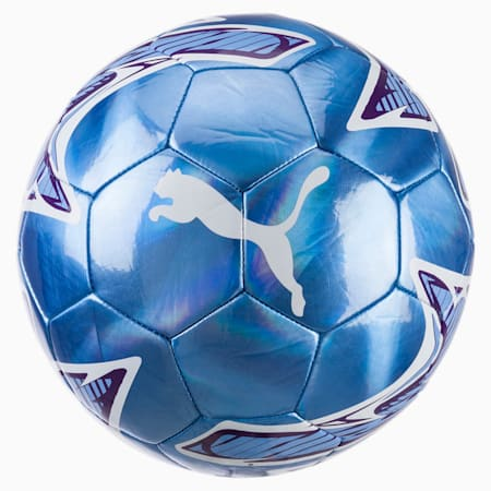 Manchester City FC PUMA ONE Laser Ball, Team Light Blue-Puma White, small