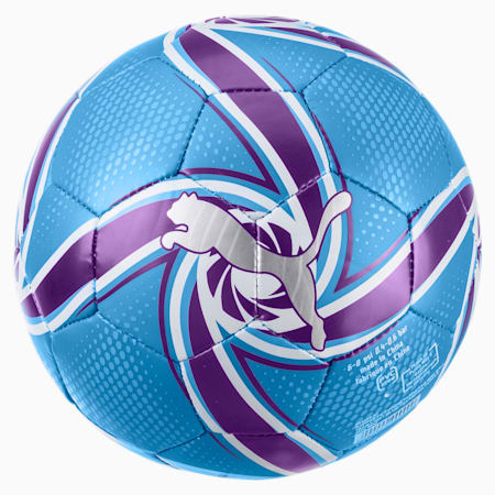 Man City FUTURE Flare Mini Ball, Team Light Blue-Tillandsia, small