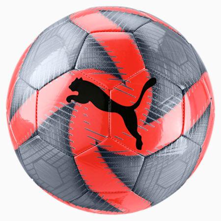 FUTURE Flare Training Football, Grey-Nrgy Red-Asphalt-White, small-SEA