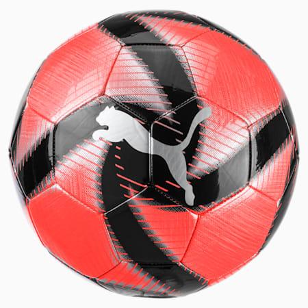 FUTURE Flare Soccer Ball, Nrgy Red-Asphalt-Black-White, small