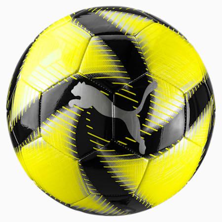 FUTURE Flare Soccer Ball, Yellow Alert-Black-White, small