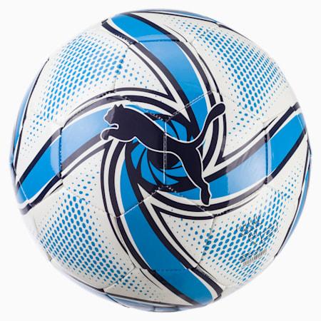 Olympique de Marseille FUTURE Flare Ball, Puma White-Bleu Azur, small