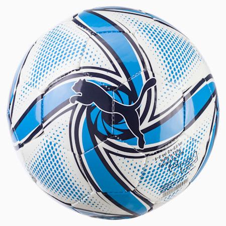 Olympique de Marseille FUTURE Flare Mini Ball, Puma White-Bleu Azur, small