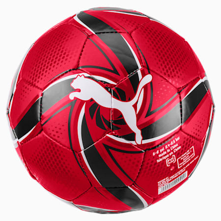 AC Milan FUTURE Flare Mini Ball, Tango Red -Puma Black, small