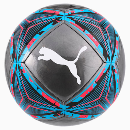 FtblNXT SPIN Football, Black-Blue-Pink Alert-White, small-IND