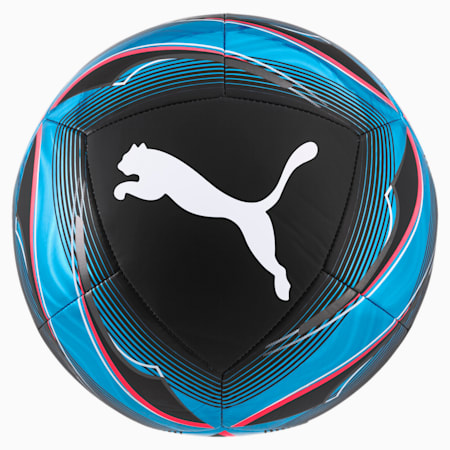 ftblNXT ICON Soccer Ball, Black-Luminous Blue-Pink, small