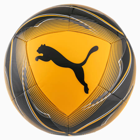 ftblNXT Icon Fußball, ULTRA YELLOW-Black-Orange, small