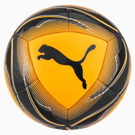 Icon Mini Soccer Ball, ULTRA YELLOW-Black-Orange, small