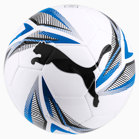 ftblPLAY Big Cat Fußball, White-Black-Electric Blue, small