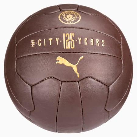 Man City 125th Anniversary Fan Ball, Puce-Victory Gold, small-SEA