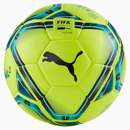 FINAL 2 FIFA Quality Pro Football, Lemon Tonic-Spectra Green-Ocean Depths-Puma Black-Omphalodes, small-GBR