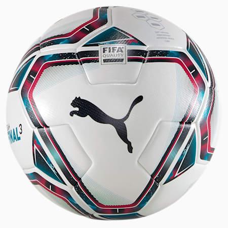 Ballon de football FINAL 3 FIFA Quality, White-Rose Red-Ocean Depths, small
