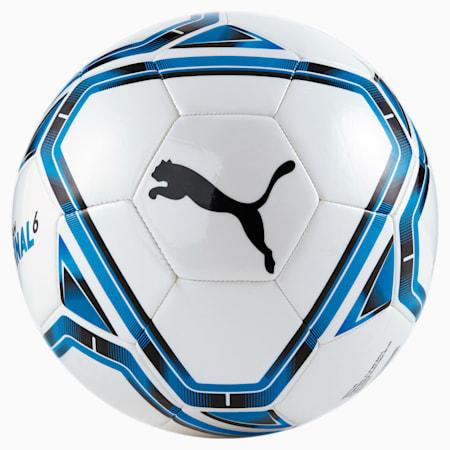 FINAL 6 Football, White-Electric Blue Lemonade, small-SEA