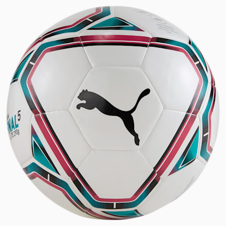 Pallone da calcio FINAL 21 Lite 290g, White-Rose Red-Ocean Depths, small