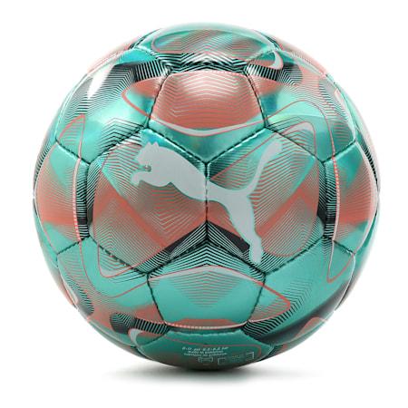 フューチャー フラッシュ サッカーボール SC, Blue Turquoise-Nrgy Red, small-JPN
