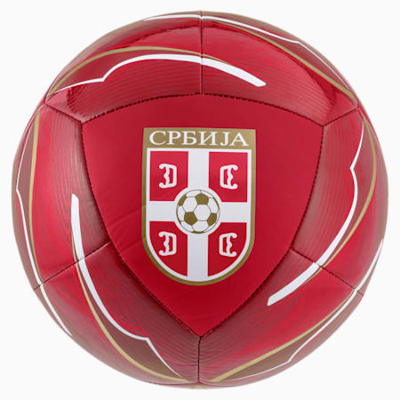 Serbien Icon Fußball, Chili Pepper-Victory Gold, small