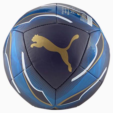 Minipelota con símbolo de la FIGC , Peacoat-Team Power Blue, pequeño