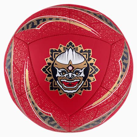 Pallone da football New York della linea Influence, Chili Pepper-Gold-BKK, small