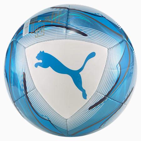 Olympique de Marseille Icon Mini Football, Puma White-Bleu Azur, small