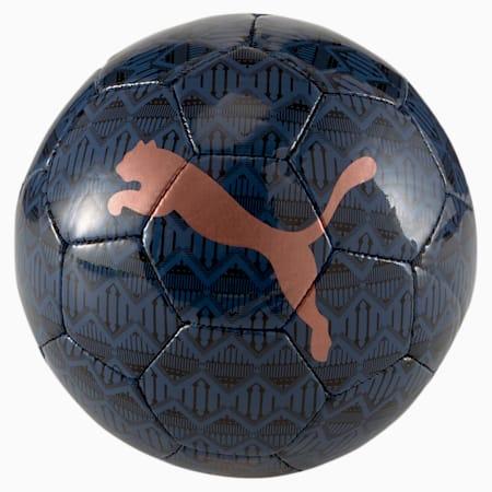 Man City ftblCORE Fan Training Football, Puma Black-Copper, small-SEA